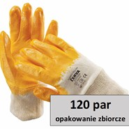 Rękawice HARRIER YELLOW KARTON-120 PAR